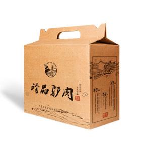 驴肉食品包装盒