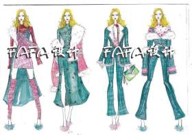 少女服装设计案例可爱清新
