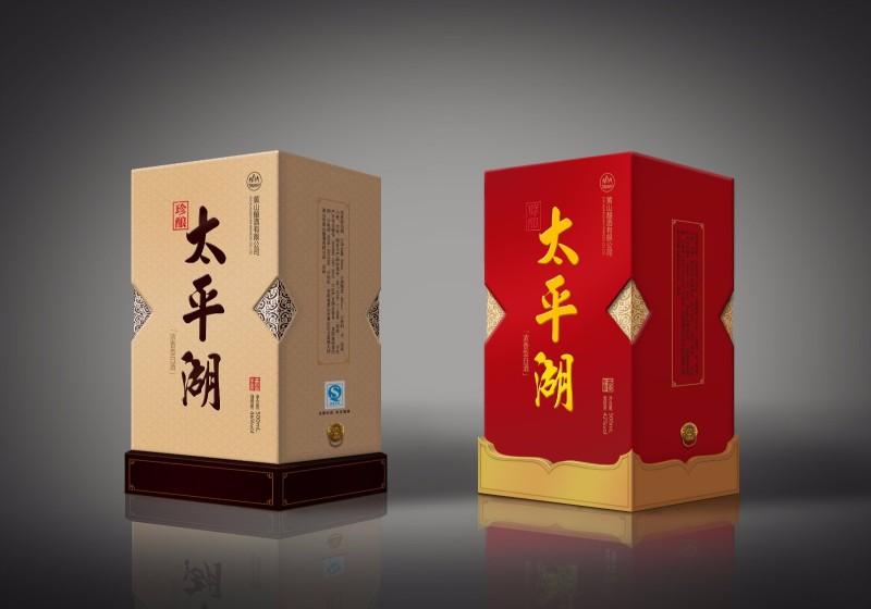 太平湖白酒包装设计