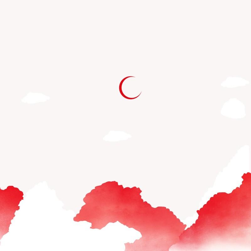 (原创)月亮与女孩手机壳插画
