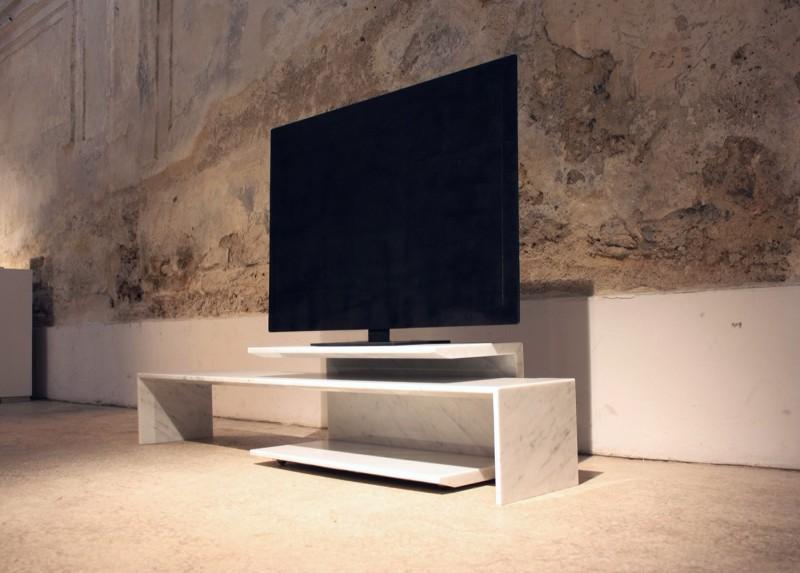 大理石电视桌