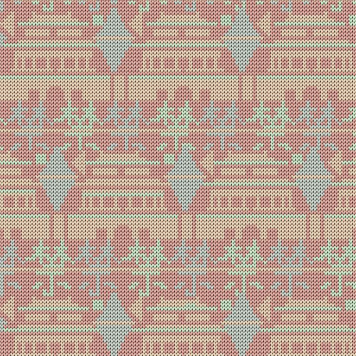 针织紫禁城图案