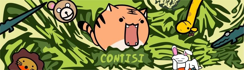 动物卡通迷彩花型