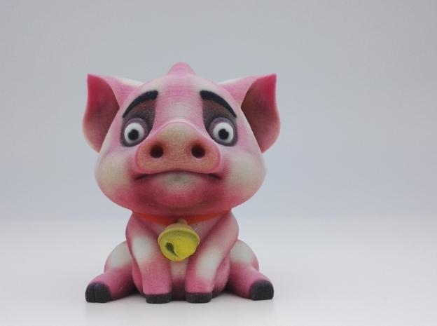 可爱小猪动物树脂工艺品玩偶摆件