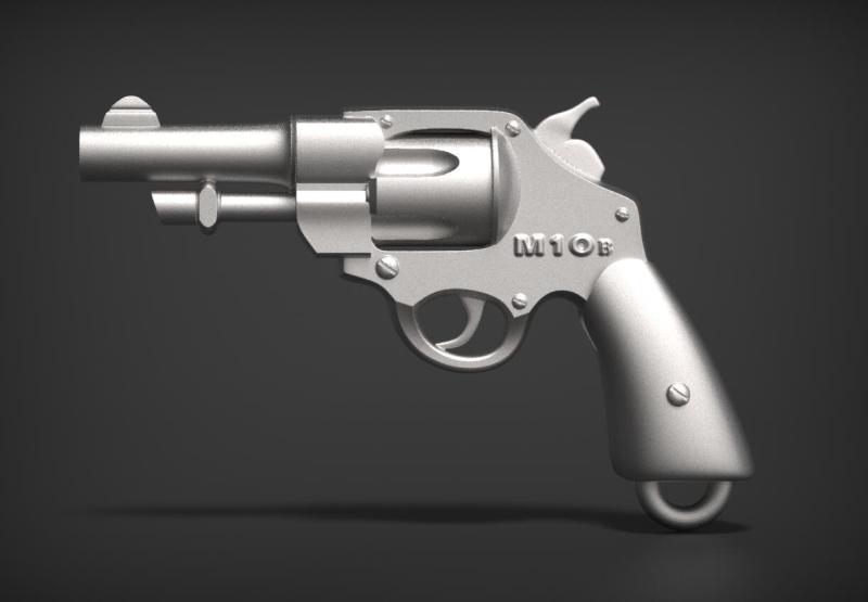 欧式写实迷你枪械钥匙扣挂件