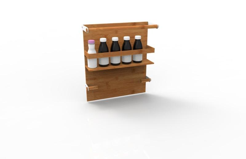 手提盒竹制品现代感