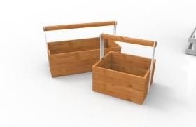 手提盒竹制品現代感