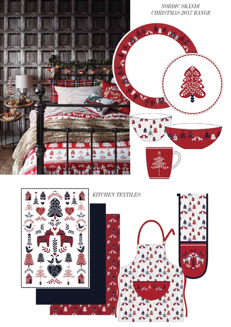 北欧风圣诞产品设计