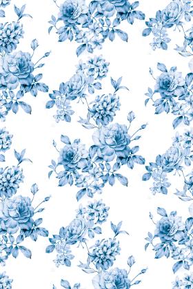 家纺花卉图案设计