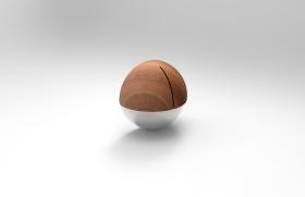 简约球形收纳盒