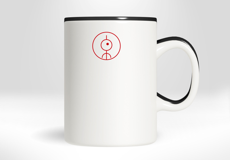 飲品簡約趣味圖文源茶LOGO