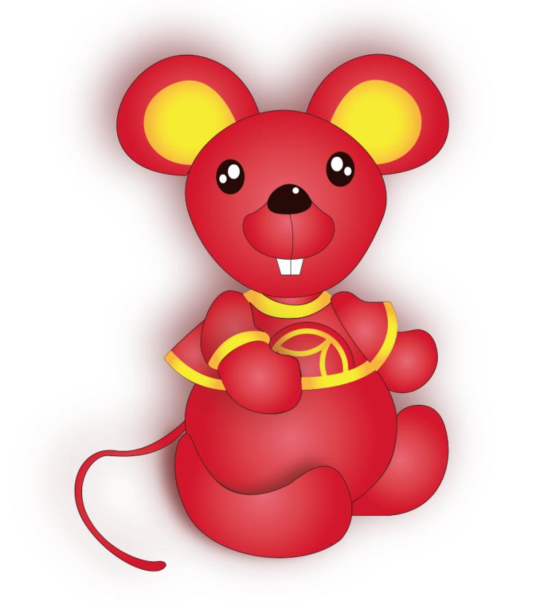 2020吉祥鼠毛绒玩具