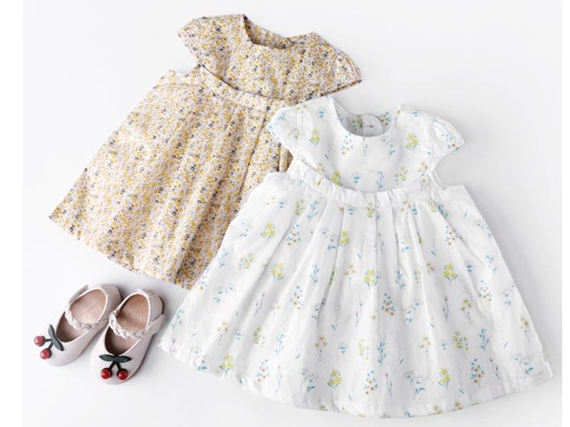 儿童夏季纯棉公主裙