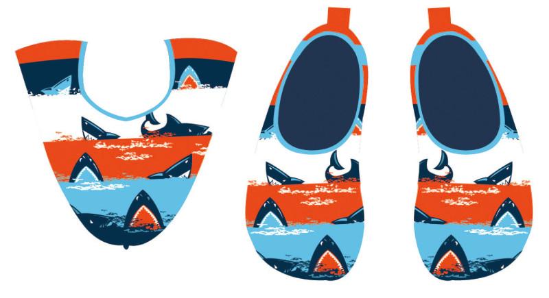 沙滩鞋图案