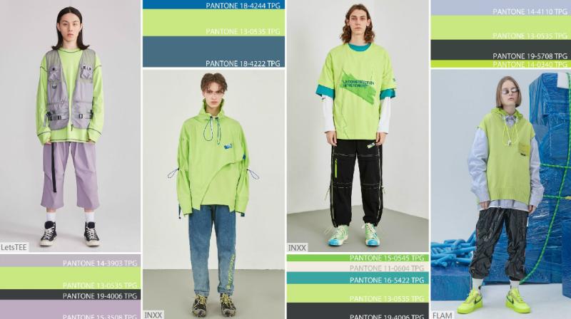 新荧绿--2020春夏男装
