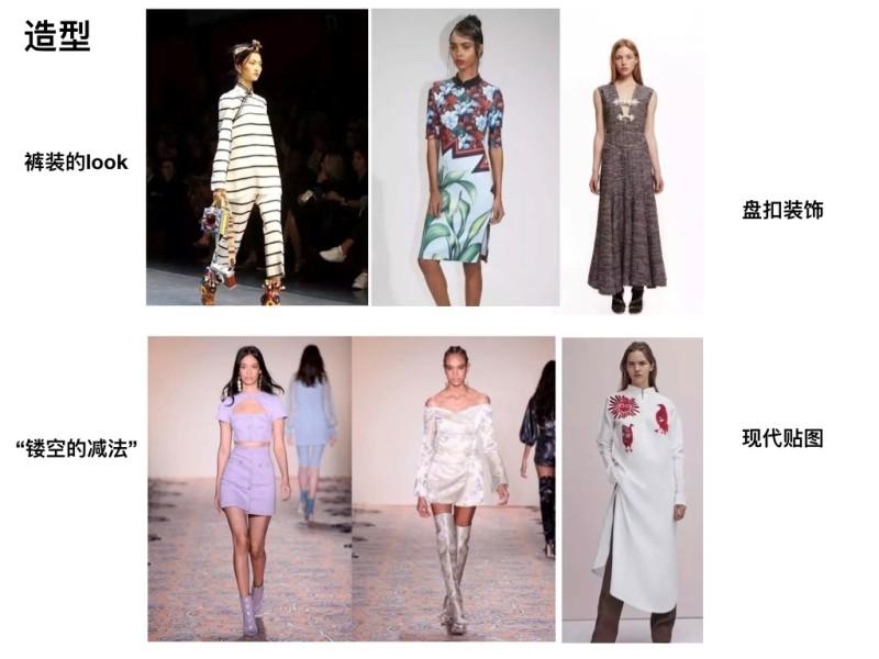 2020春夏女士中式風尚改良旗袍