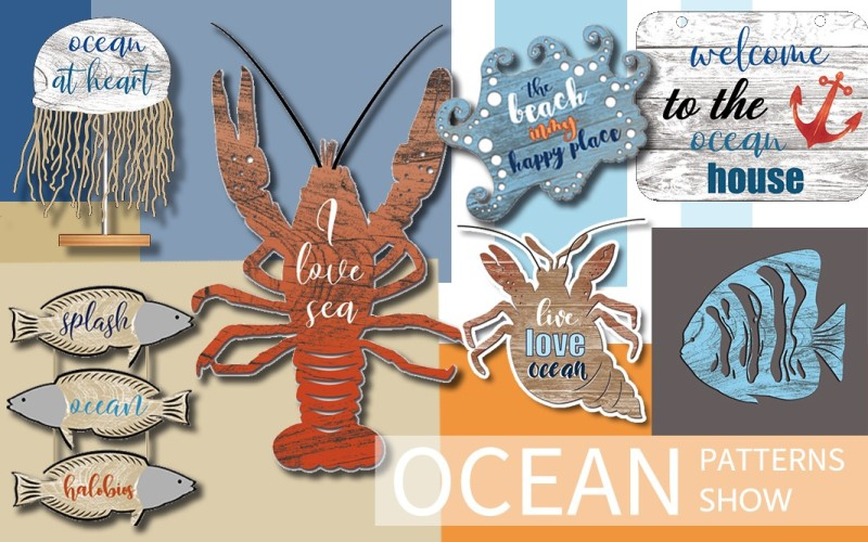 2020春夏歐美鐵藝流行趨勢--海洋元素