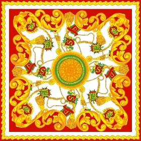 丝巾印花图案设计