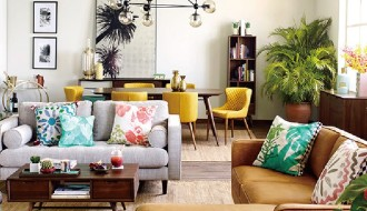 2018流行元素——大叶类植物在家纺系列的运用
