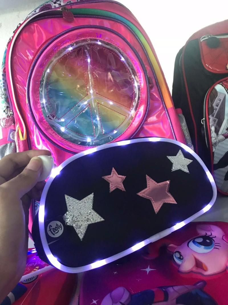 流行工艺LED闪光灯在箱包中的应用