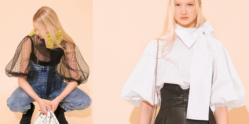 2021女装趋势袖型-羊腿袖
