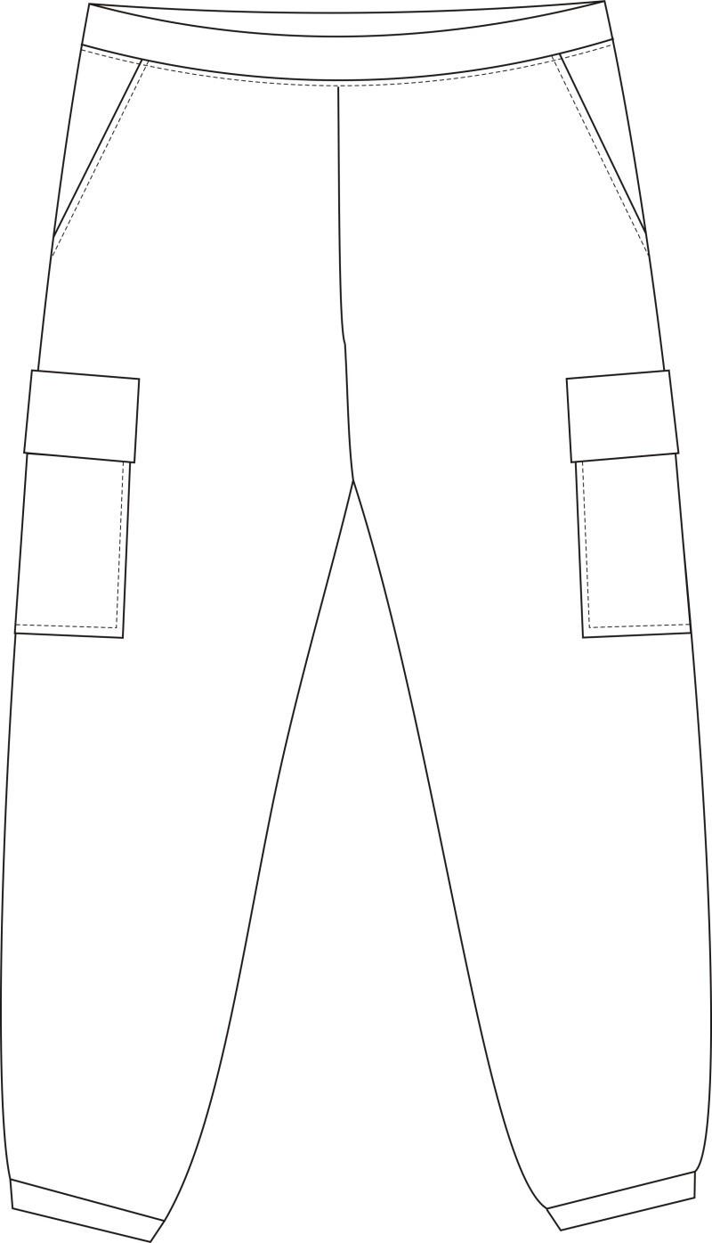 春秋運動褲
