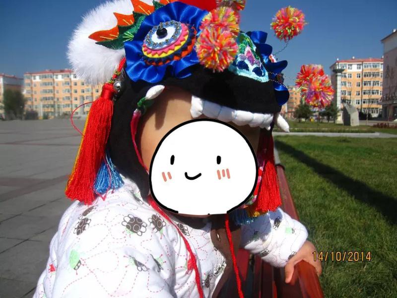 傳統工藝老虎帽子