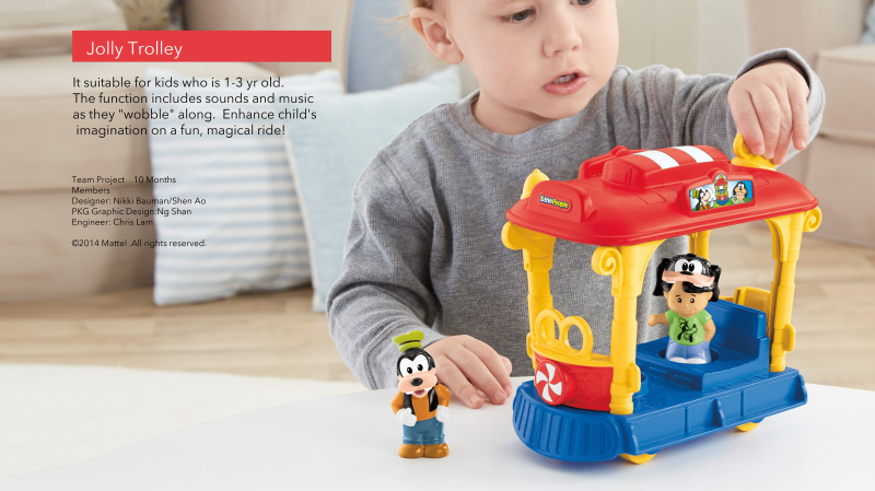 迪士尼版權玩具套件