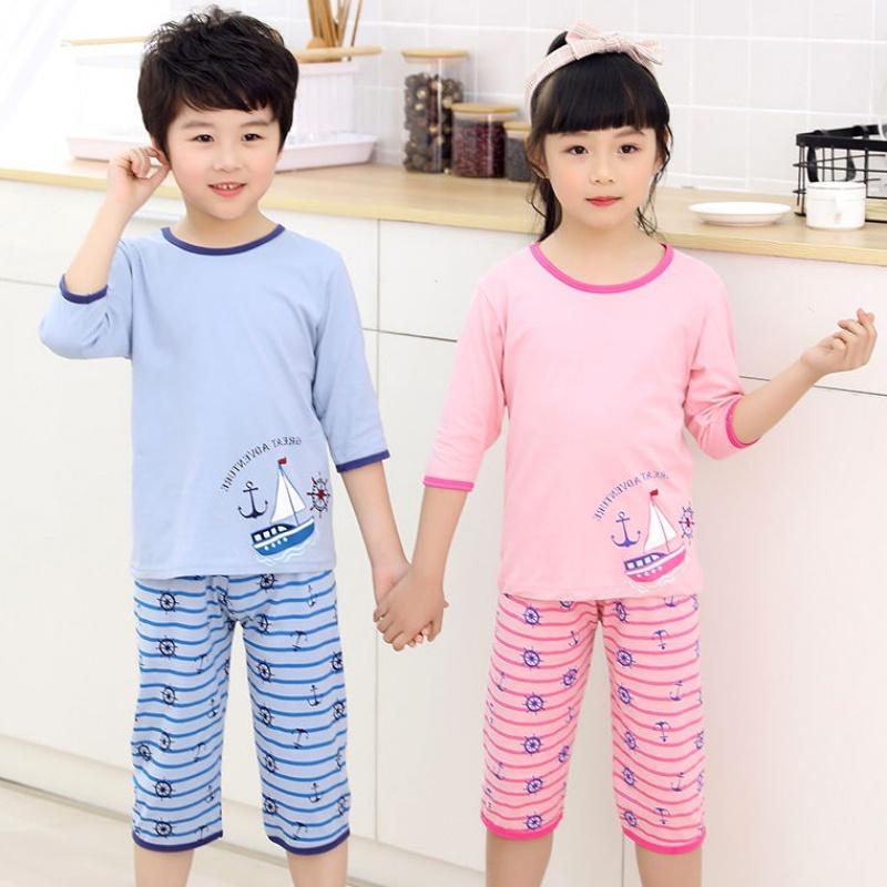 兒童睡衣及花型設計