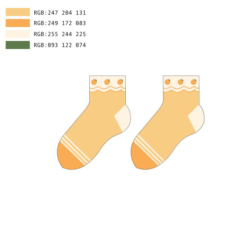 儿童特色袜子设计