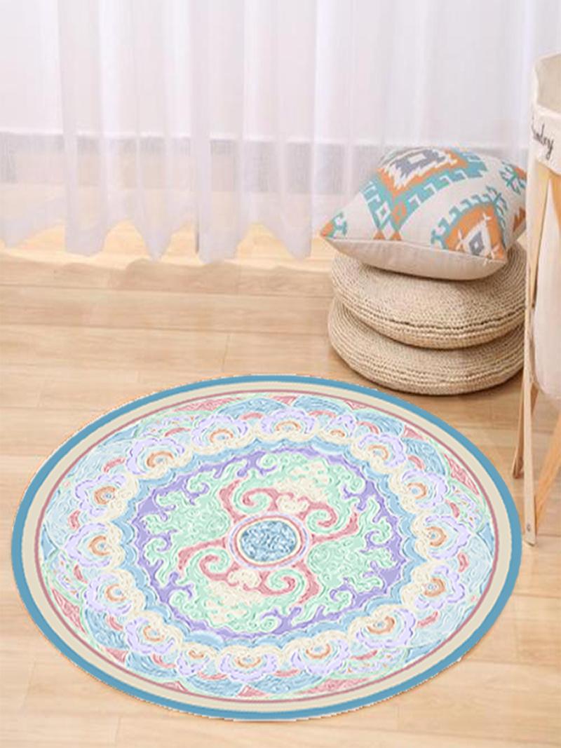 中式传统花纹装饰地毯