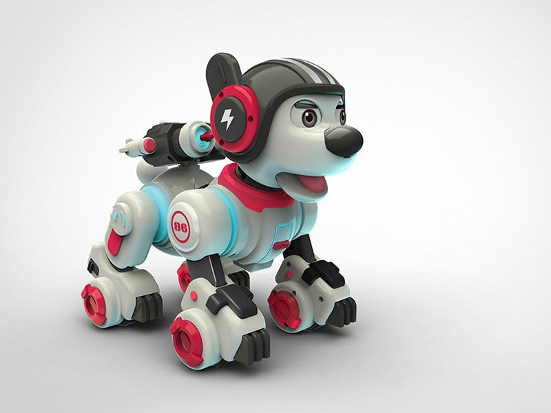 智能互动机器宠物狗产玩具品设计
