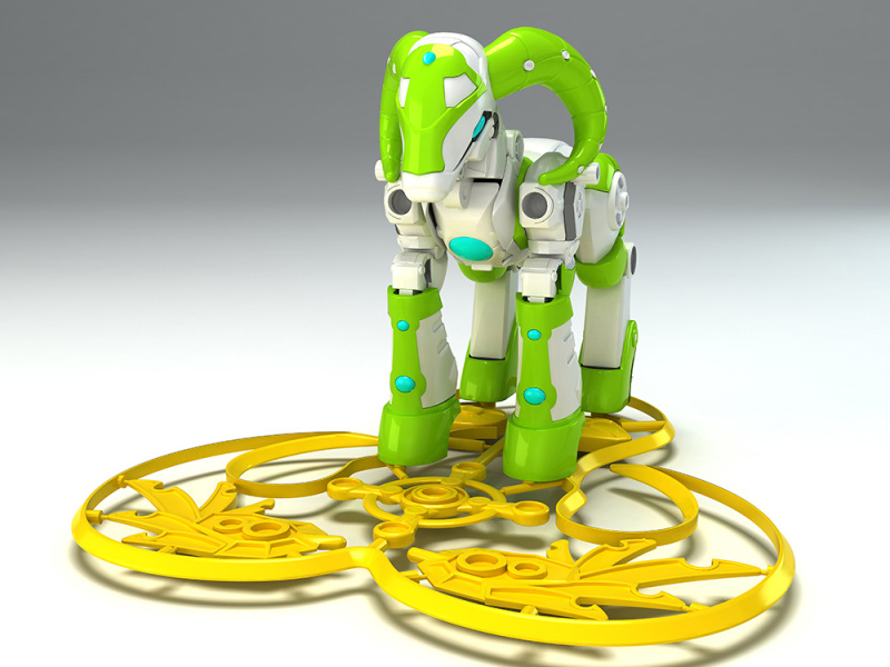 十二生肖文创玩具产品设计开发