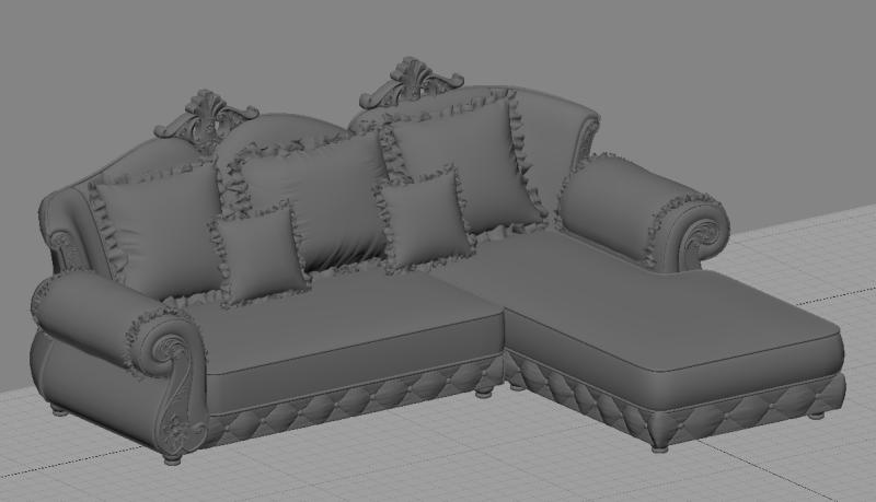 家具3D建模