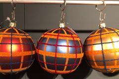 格子风格的爆发,传统与现代并存的圣诞装饰