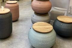 傳統與現代結合的籃式編織,自然感與手工藝感的完美融合