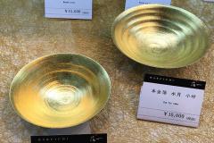 東京禮品趨勢-金&黃銅&仿木