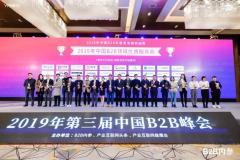 """""""彩虹开发网""""荣获2019年中国B2B优质服务商、瞪羚企业奖"""