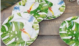2017春夏家居 餐具——热带的诱惑