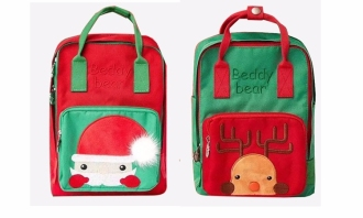 圣诞插画系列箱包设计中应用