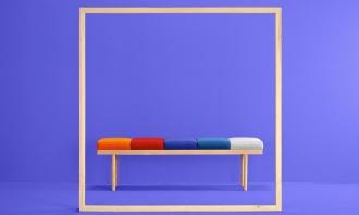 糖果色与极简主义在家具上的运用