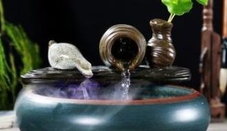 流水擺件--流水招財風水在家庭裝飾的運用