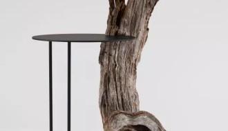"""""""朽木""""在家居产品设计中的运用"""