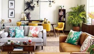 2018流行元素——大葉類植物在家紡系列的運用