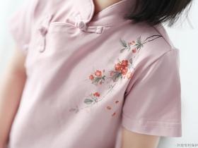 海棠服饰图案