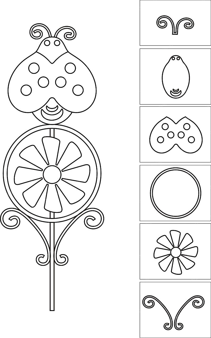 铁皮线切割花卉系列6-设计案例_彩虹设计网图片