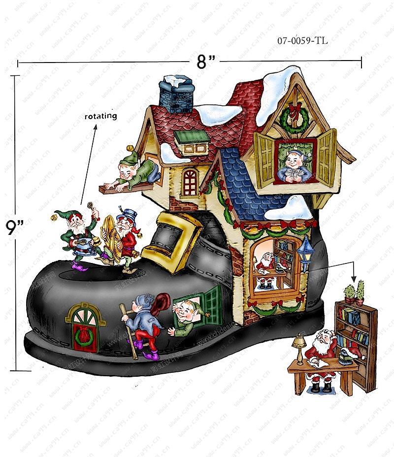 卡通日本房子图片 卡通房子图片大全可爱