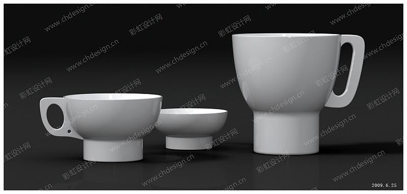设计案例 工艺品设计 工业设计 包装设计 陶瓷产品设计  已生产上市