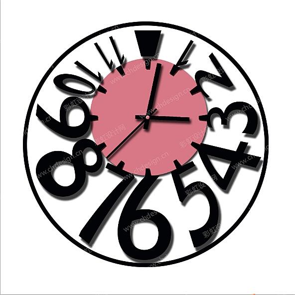 设计 时钟 矢量 矢量图 素材 钟表 592_592