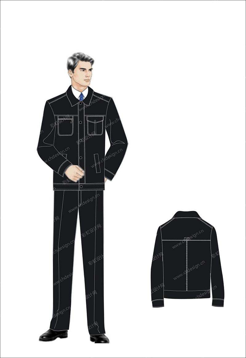中级人员职业装设计-设计案例